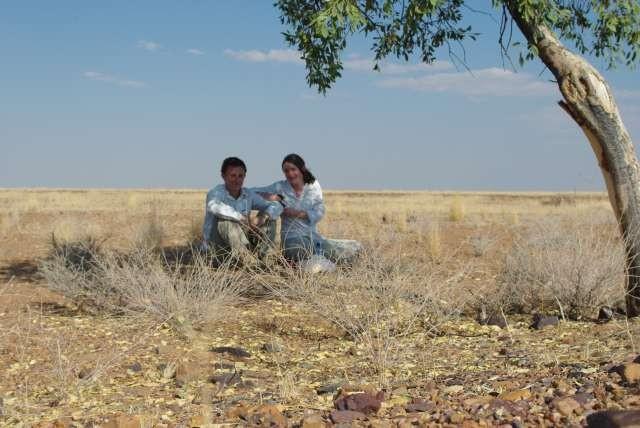 Pic-nique au milieu du désert