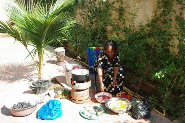 Fatoumata cuisine