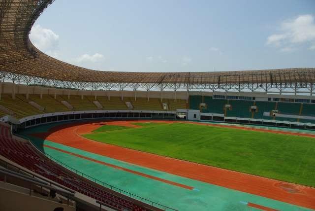 Stade construit pour la Coupe d'Afrique des Nations de 2008