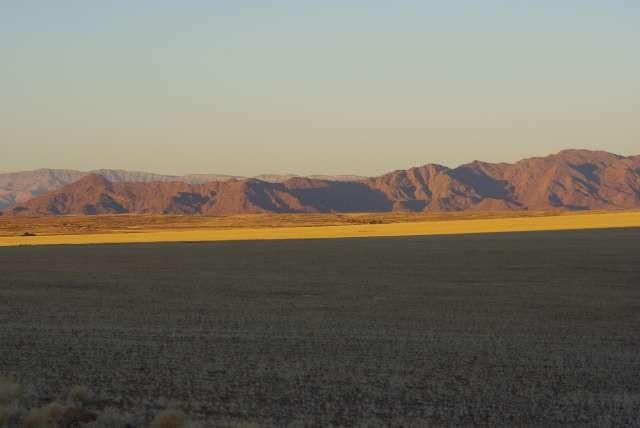 Coucher de soleil sur les dunes de Sossusvlei