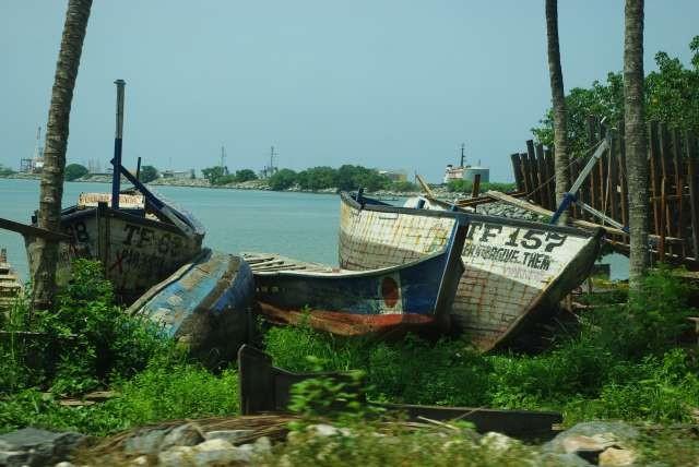 Port de pêche de Sekondi