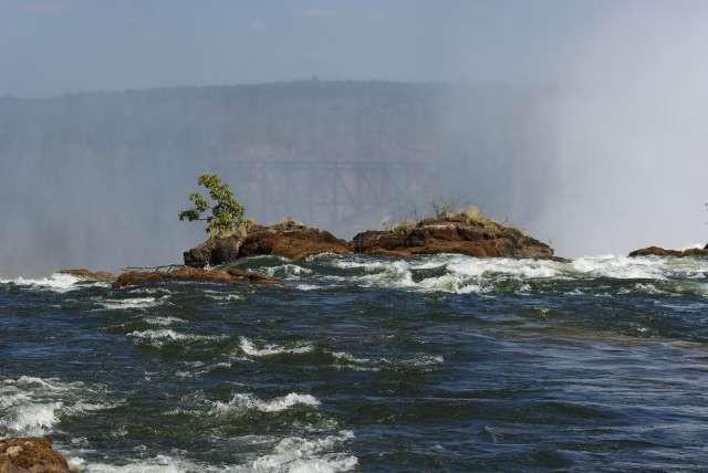 Le fleuve Zambèze avant les chutes (pour ce prix...)