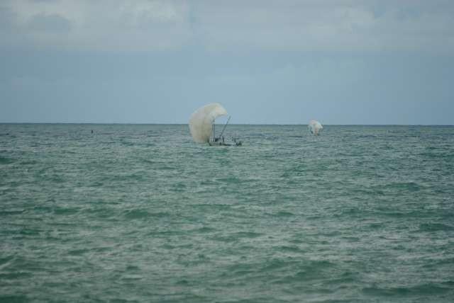 Pêcheurs rentrant au port