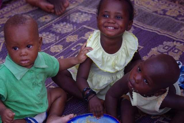 Les bouts d'chou (Abdoullaye, Djata et Amadou)
