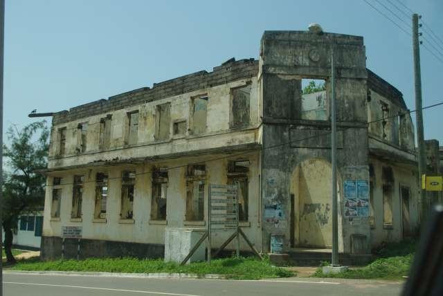 Maison abandonnée de Sekondi