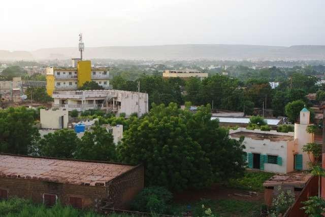 Bamako depuis le toit du BICE