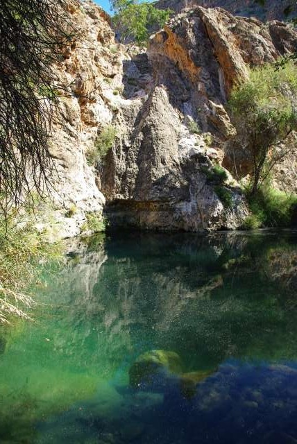 Piscine naturelle, Naukluft Mountains