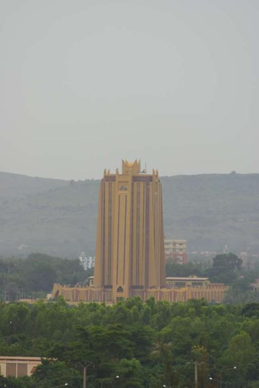 L'immeuble de la Banque Centrale des Etats de l'Afrique de l'Ouest (BCEAO)