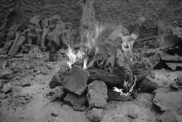 Les moules sont chauffés