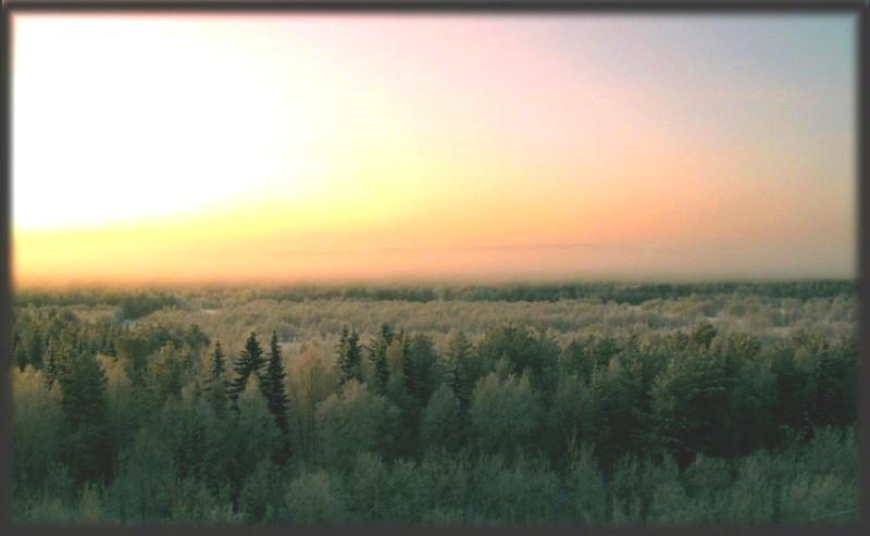 Полярная ночь в Хибинах