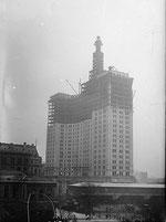 1912年 建設中のMunicipal Building