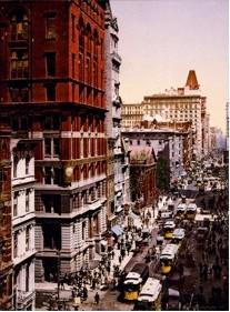 1900年代初頭のブロードウェイ