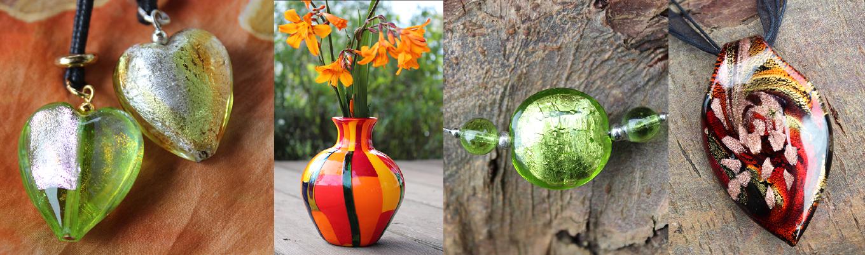 Shop Lagunenschmuck & Farbenpracht Schmuck aus Muranoglas