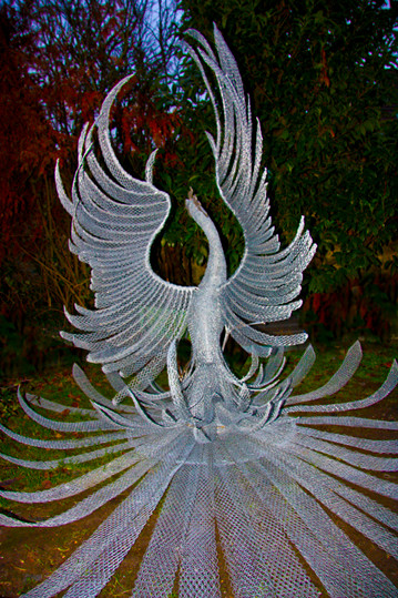 Le Phoenix du château du Rivau