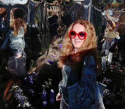 Ekaterina dans le Labyrinthe