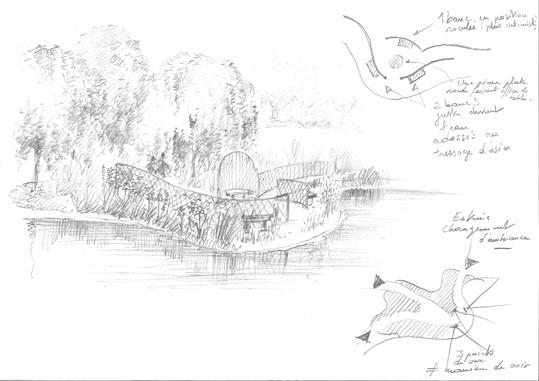Projet en Touraine - Au bord de l'étang ©