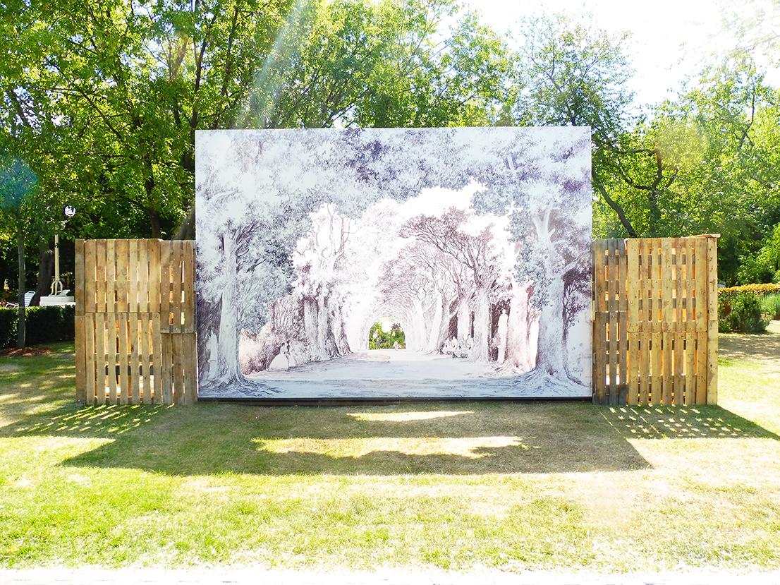 Le Théatre Jardin Nature Mirrors