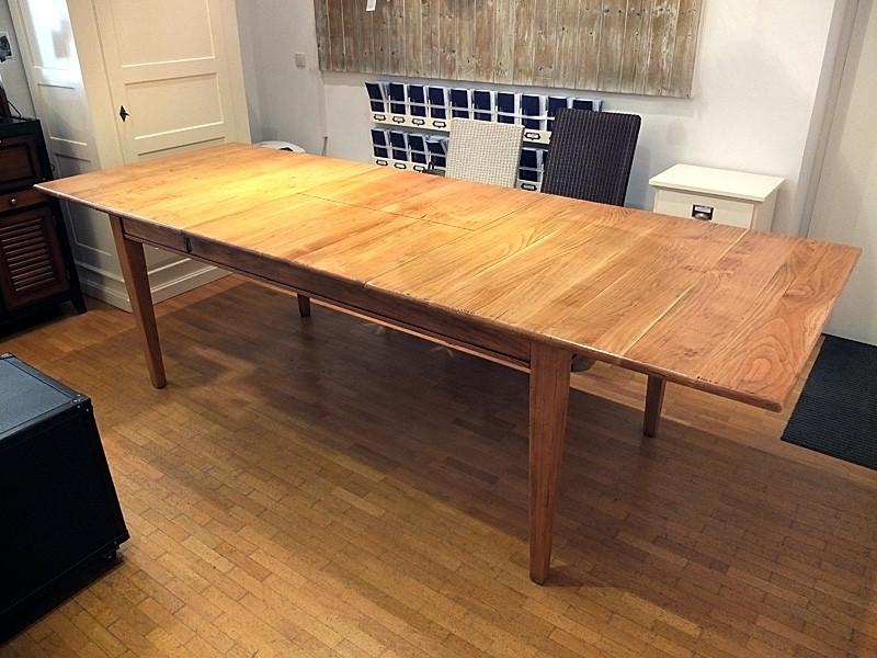 Aus einem Tisch 200x100 wird eine Tafel von 290x100