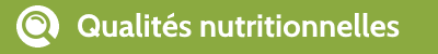 Qualités nutritionnelles du quinoa