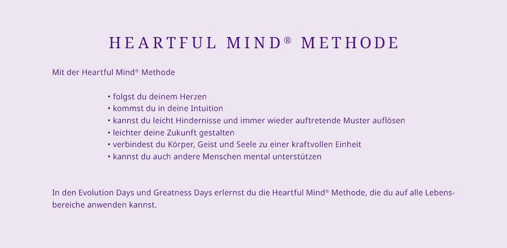 Heartul Mind Methode von Silvia Köhler, Professionelles Coaching und Persönlichkeits-Seminare bei Frankfurt am Main