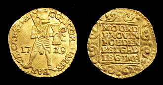 Gouden ducaten uit het Vliegend Hart