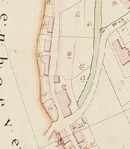 kadaster anno 1832. Dussendijk 29 staat hier aangegeven bij nummer 47