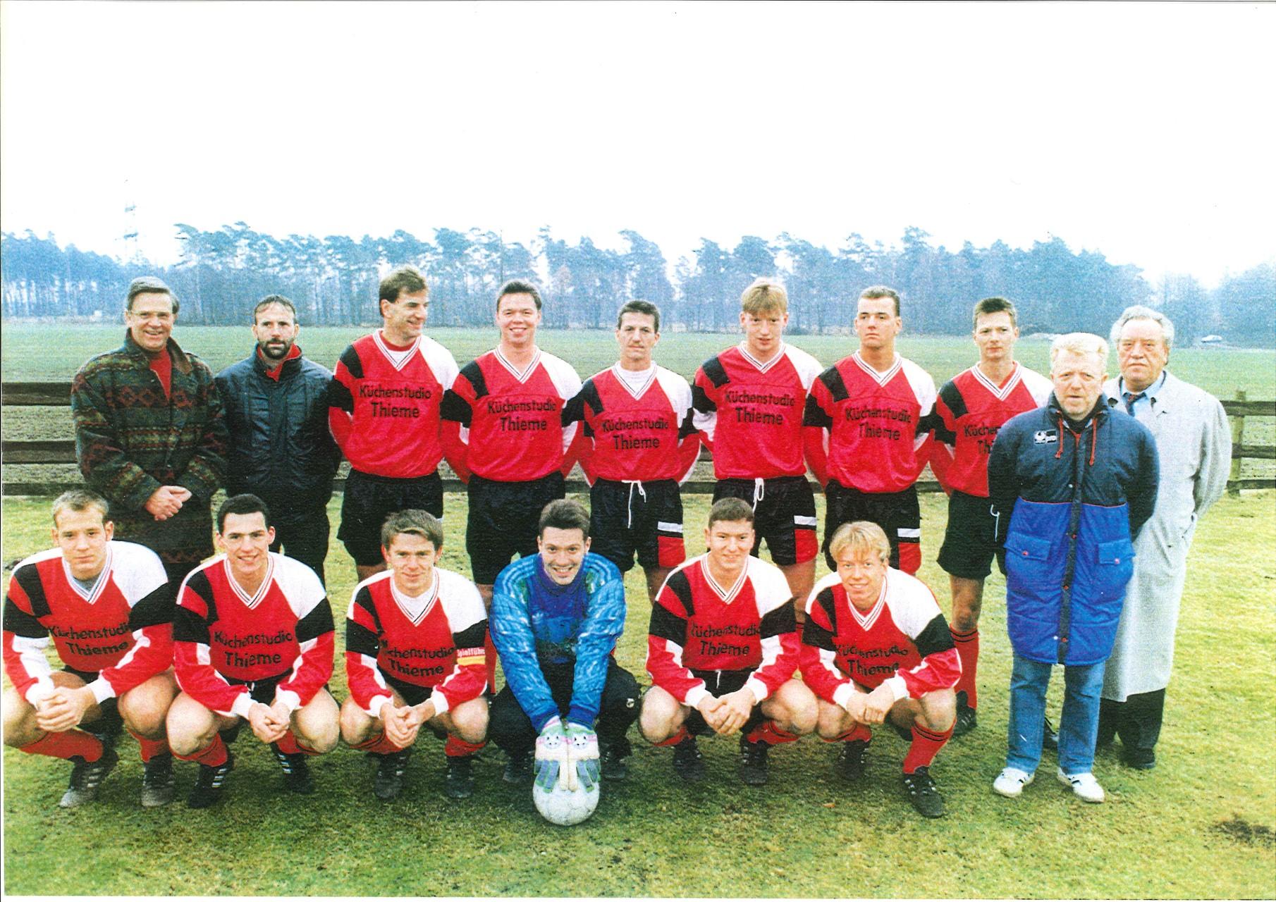 1.Mannschaft 1992-1993
