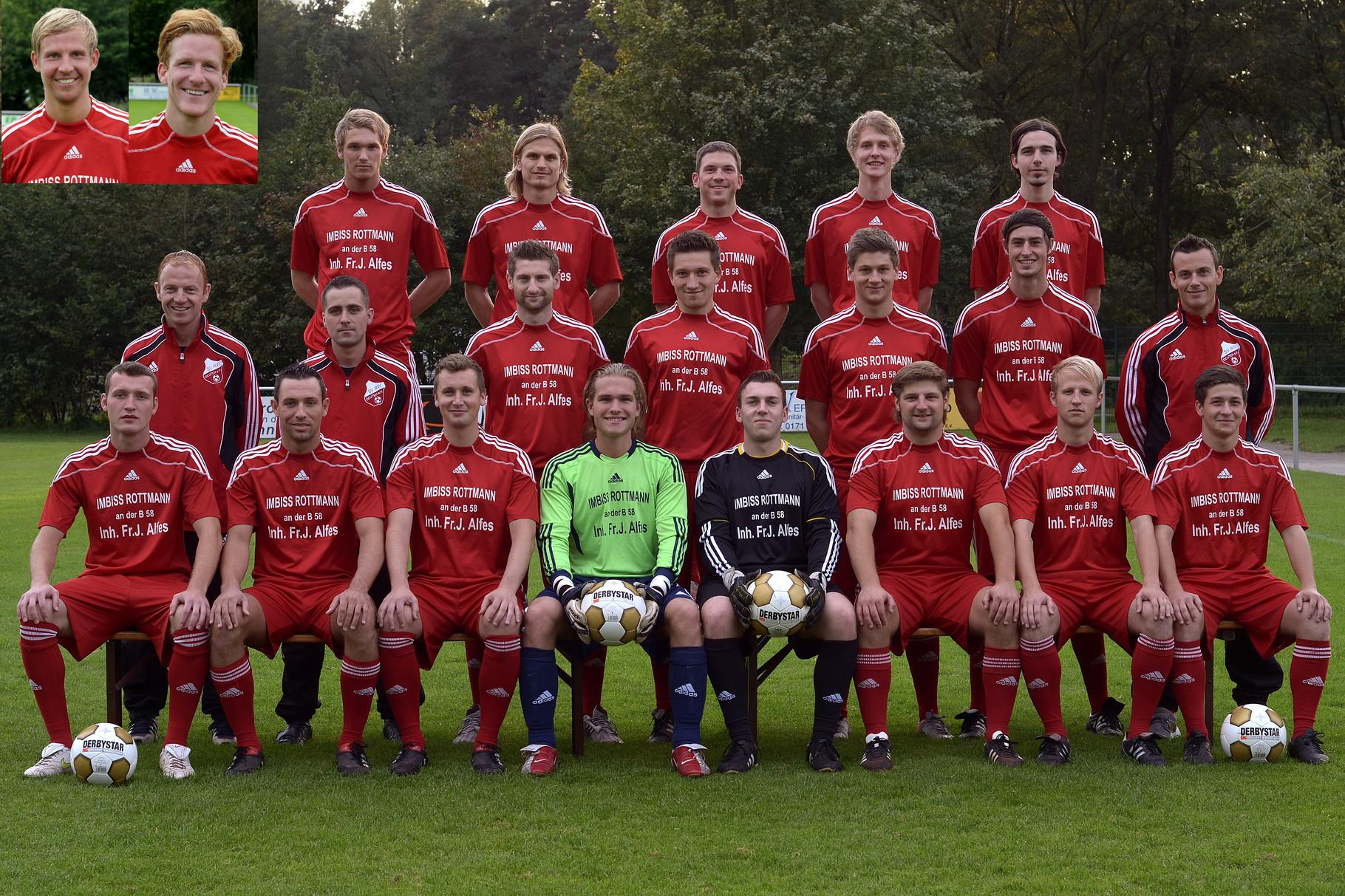 1.Mannschaft 2011-2012
