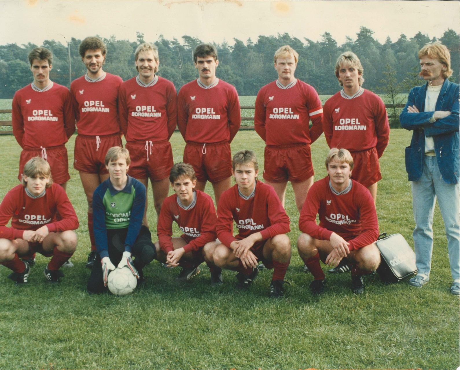 1.Mannschaft 1987-1988