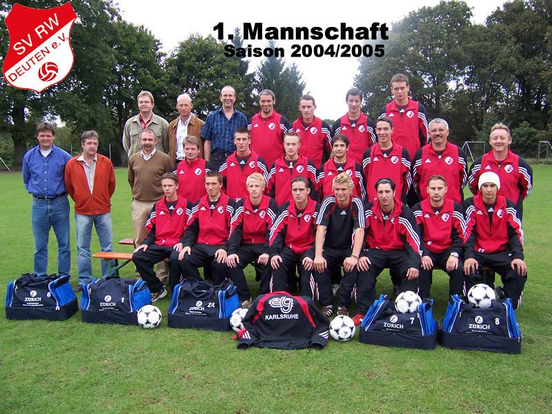 1.Mannschaft 2004-2005