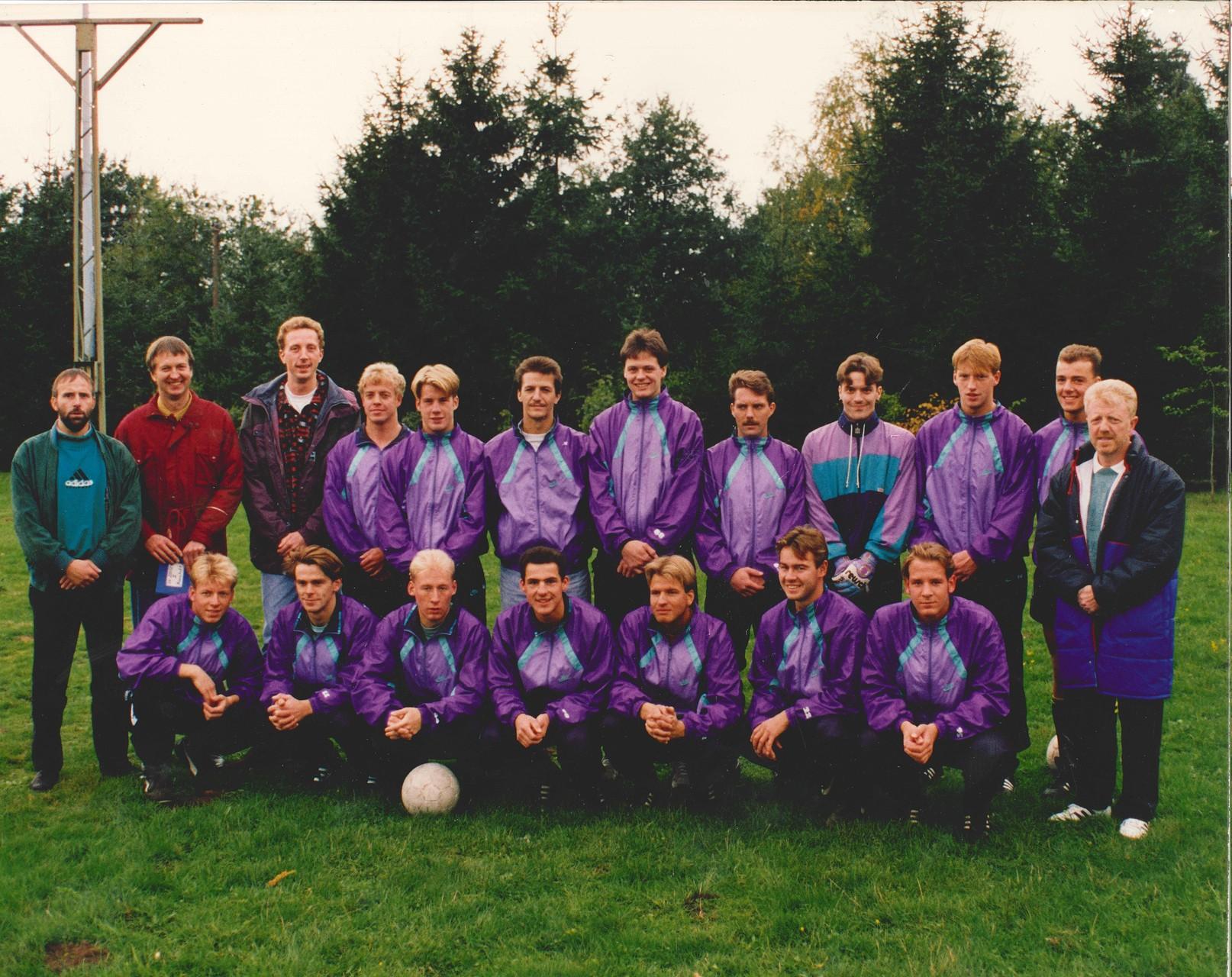 1.Mannschaft 1991-1992
