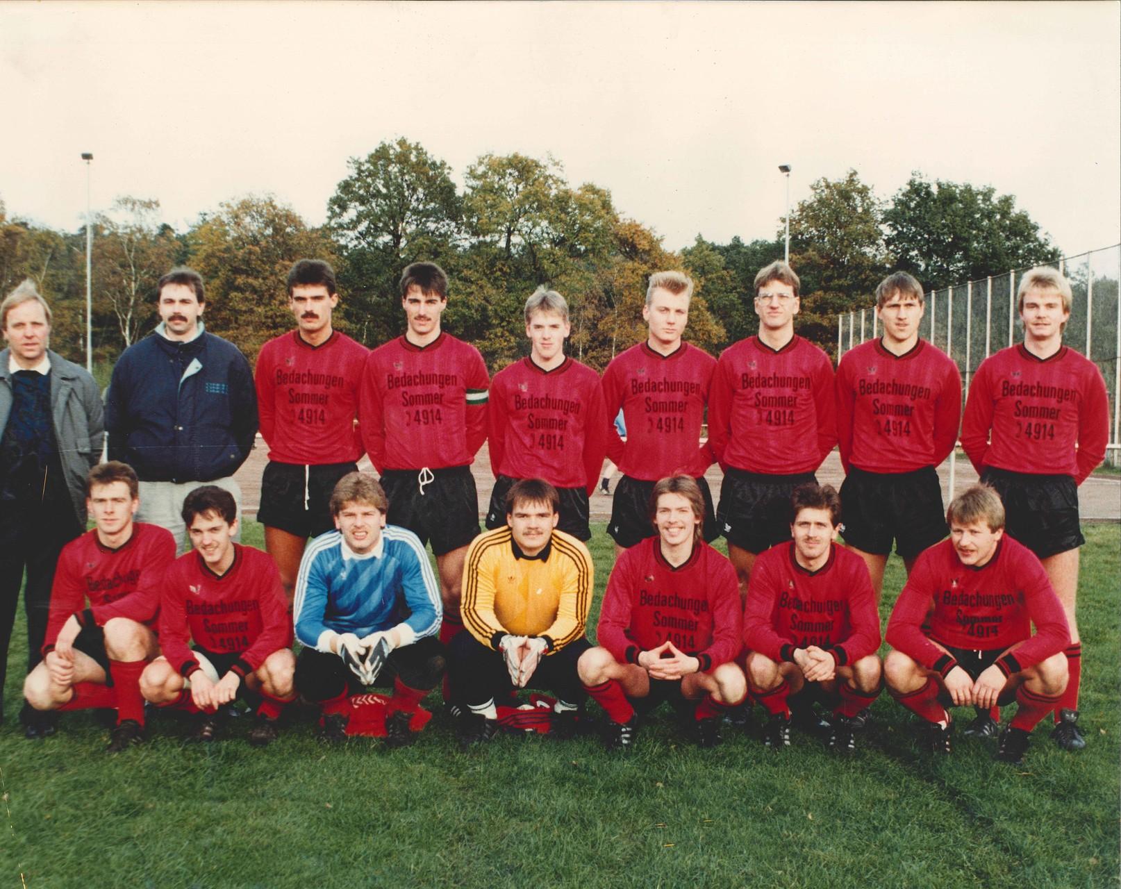 1.Mannschaft 1988-1989