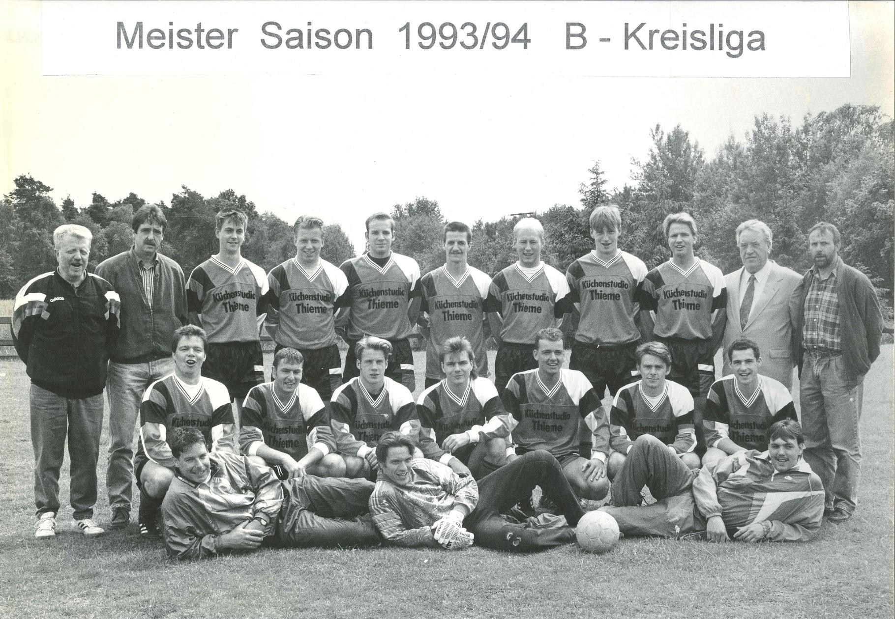 1.Mannschaft 1993-1994