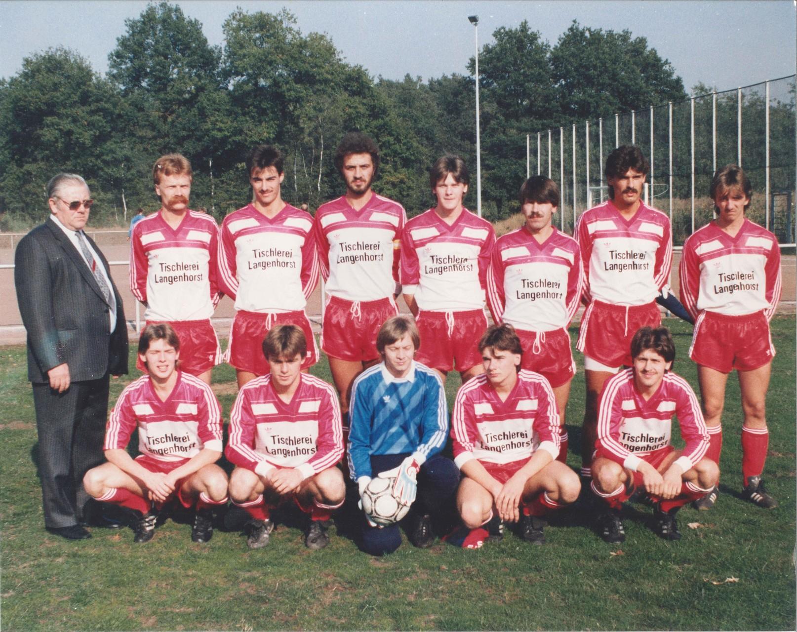 1.Mannschaft 1986-1987