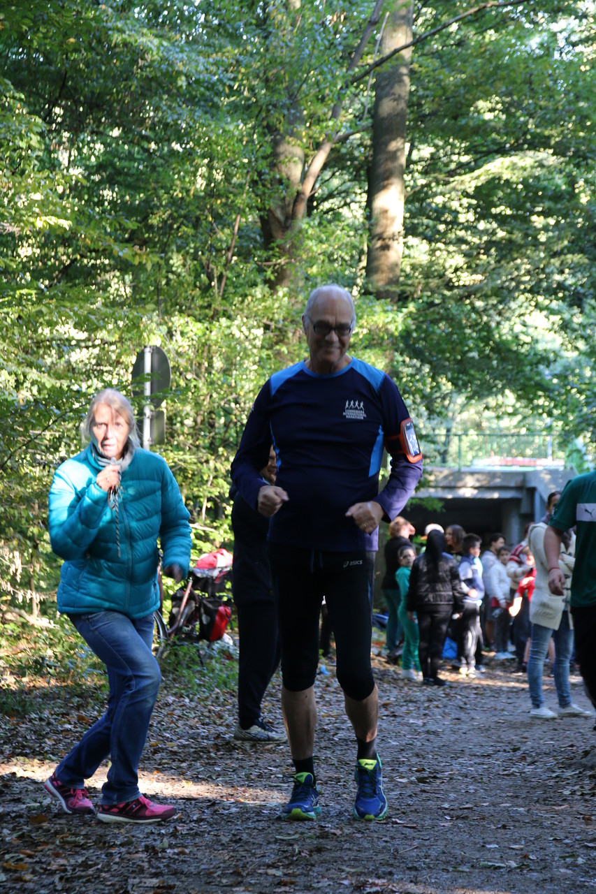 Sogar unser Schulleiter Herr Kümmeler machte Kilometer!