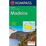 Madeira Wanderkarte mit Aktiv Guide und Stadtplan. GPS-genau.(KOMPASS-Wanderkarten, Band 234)