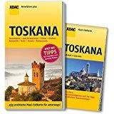 ADAC Reiseführer plus Toskana mit Maxi-Faltkarte zum Herausnehmen