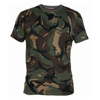 ingrosso t-shirt mimetica