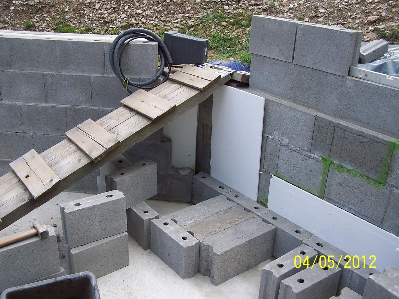 treppe poolselbstgebaut. Black Bedroom Furniture Sets. Home Design Ideas
