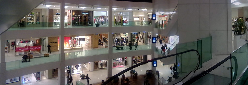Handypanorama im Shopping Leblon