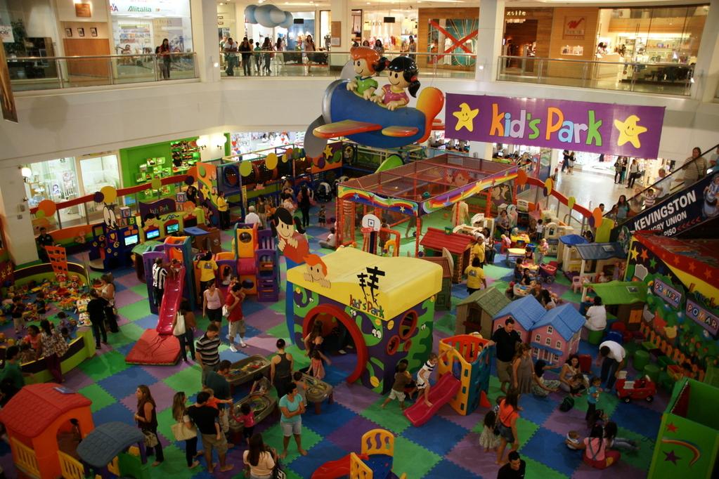 Der Wahnsinn hat einen Namen: Shopping Via Parque Kid's Park