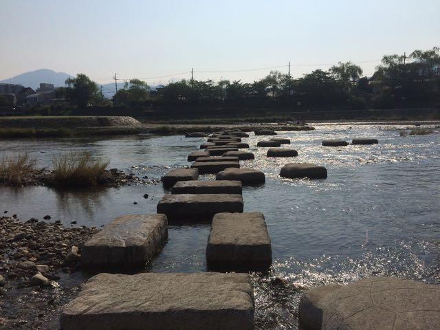 2018年7月16日 鴨川 朝の風景 出町付近