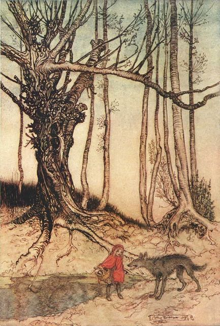 Illustration von Arthur Rackham, 1909