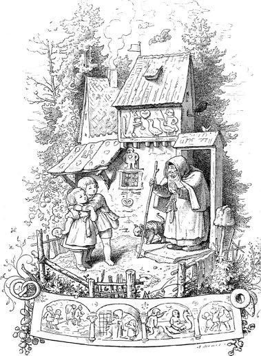 Illustration von Ludwig Richter, 1903. Jahrhundert