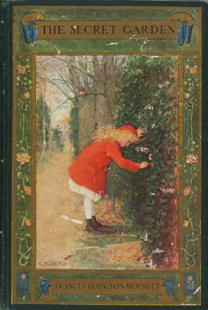 Cover: The Secret Garden by Frances Hodgson Burnett (1849-1924). Publisher: New York: F.A. Stokes, 1911.