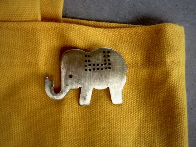 Elephant  ぞうさん  Brooch/Pendant top jewelry