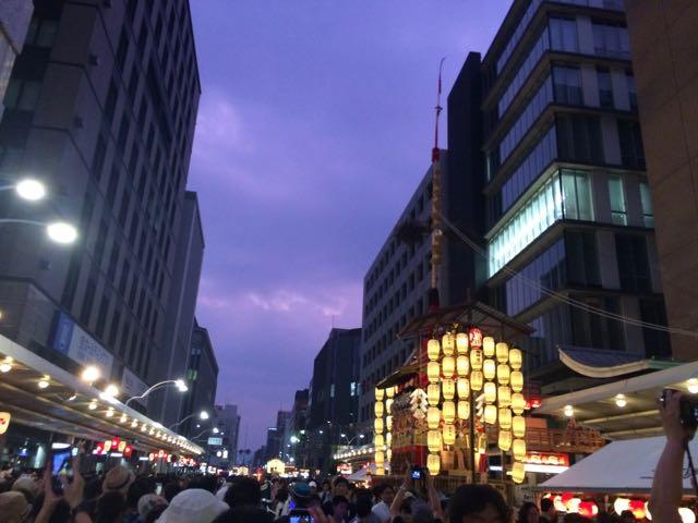 2017年7月16日祇園祭宵山