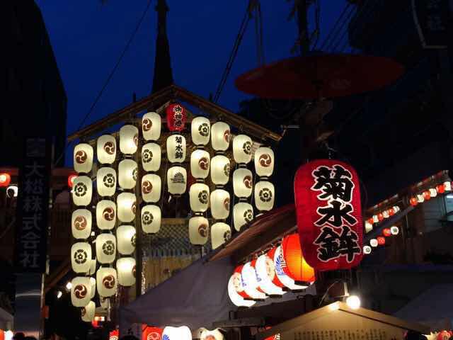 祇園祭り 宵々山 菊水鉾さん