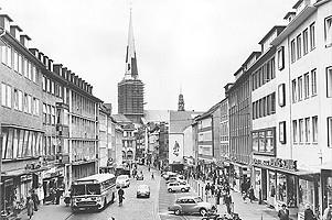 Breite Straße um 1960, Hansestadt Lübeck