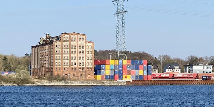 Die Ölmühle in Lübeck Siems